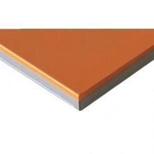 Оранжевый, кромка 3D акриловая