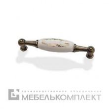 Скоба фарфор+золото, 96 мм.