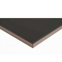 Черный, кромка 3D акриловая