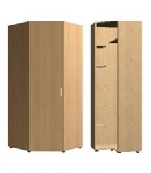 Шкаф угловой трапеция<br>для стыковки шкафов гл. 420мм<br>ШхВхГ<br>732х2040х732мм<br>732х2240х732мм