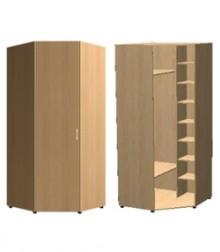 Шкаф угловой трапеция<br>для стыковки шкафов гл. 420мм<br>комбинированный<br>ШхВхГ<br>732х2040х732мм<br>732х2240х732мм