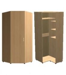 Шкаф угловой трапеция<br>для стыковки шкафов гл. 560 и 420мм<br>ШхВхГ<br>830х2040х970мм<br>830х2240х970мм