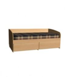 Кровать 2 ящика шириной<br>шириной 800х1600мм<br>800х2000мм